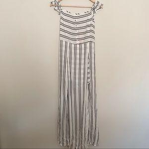 Showpo - Striped Jumper (NWT)